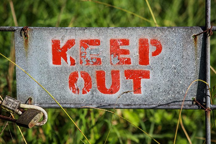 Keep_out_från_bantning