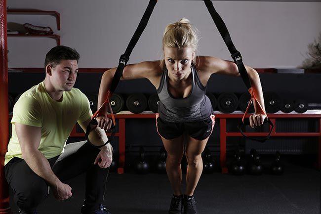 Kvinna_på_gymmet