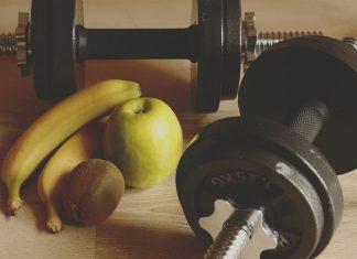 Träning_och_proteinpulver_bild_banan