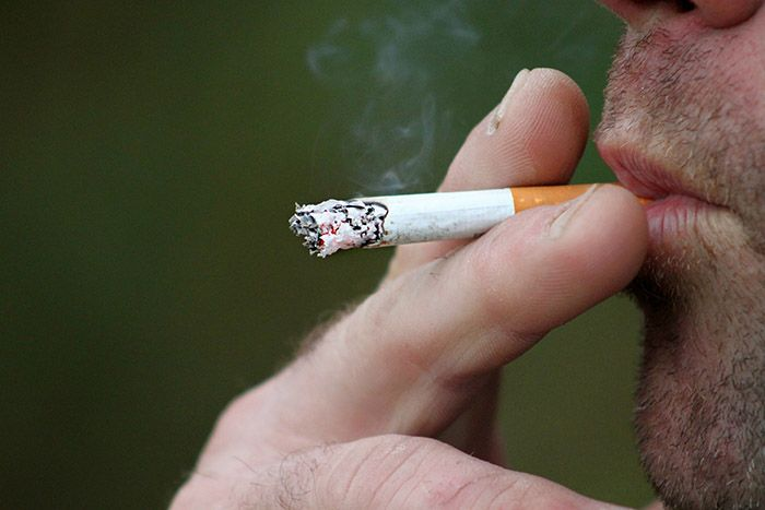 vad händer om man röker