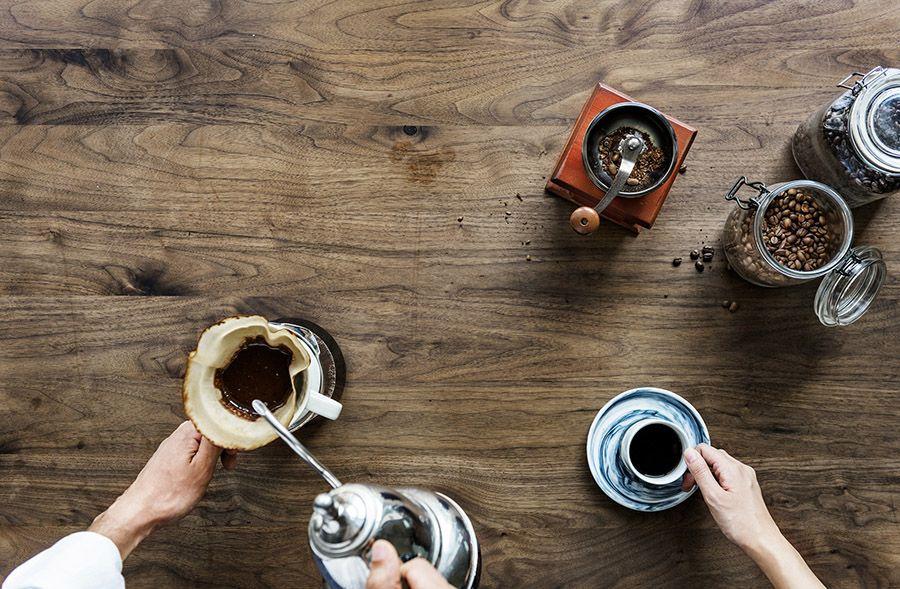 Förbered-kaffe-på-morgonen